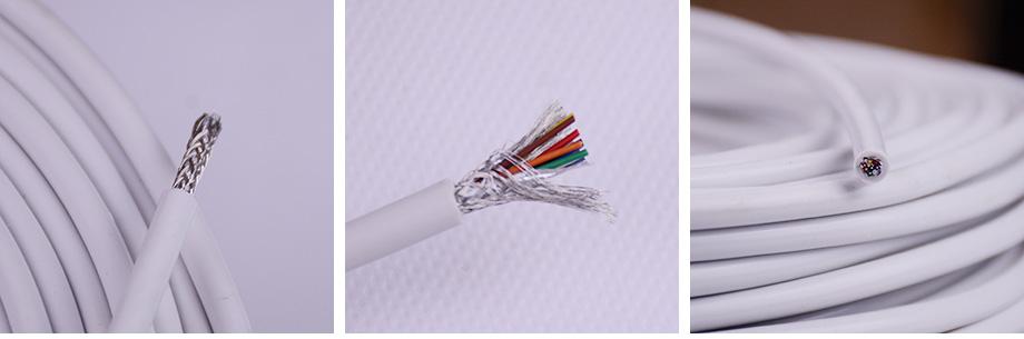 8芯铁氟龙屏蔽电线产品图