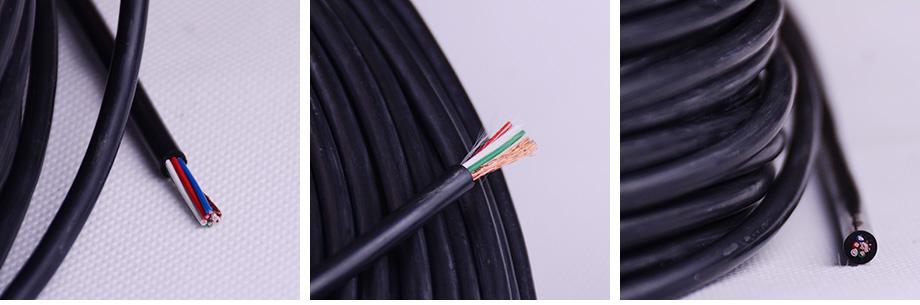 5芯铁氟龙单编电线产品图