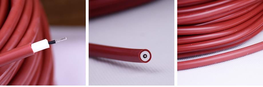 阻燃硅胶电缆产品图