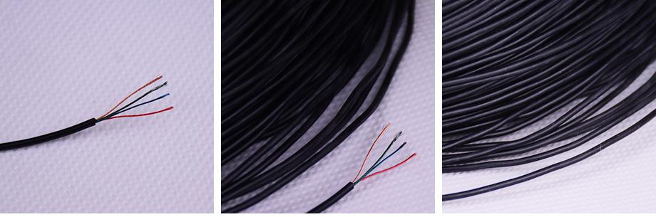 4芯硅胶漆包线产品图