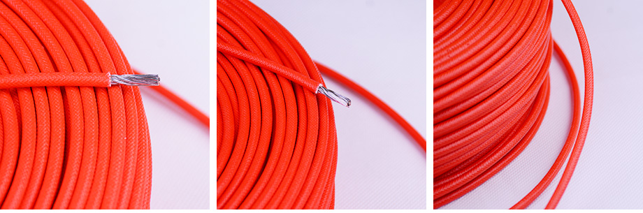 4平方硅胶编织线产品图