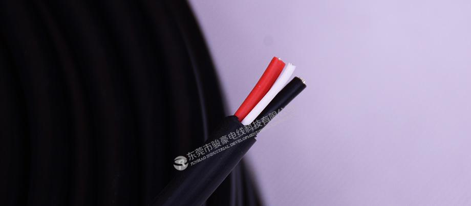 SAA(HO5SS-F)3×0.75mm²硅胶电缆线产品图