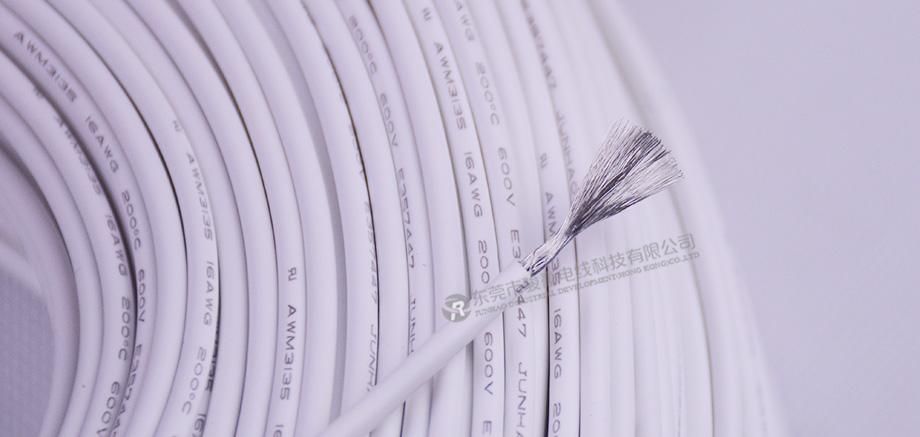 1.3平方特软硅胶电线产品图