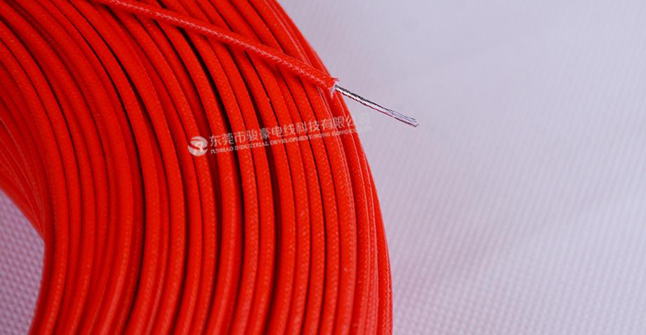 UL3122 18#硅胶编织线产品图