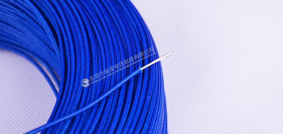 UL3122 20#硅胶编织线产品图
