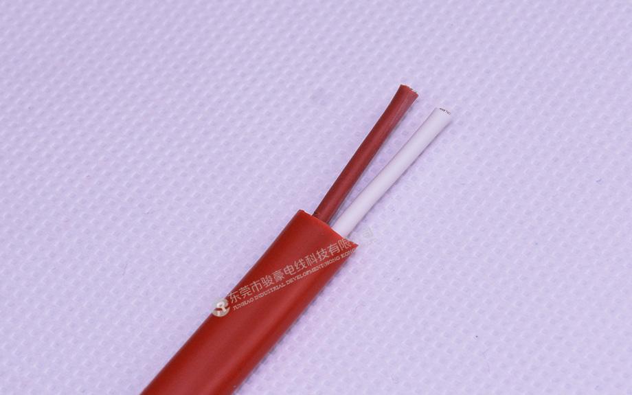 1平方2芯硅橡胶扁线产品图