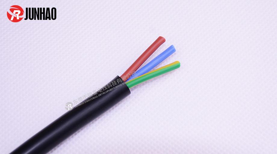 三芯电源插头线产品图