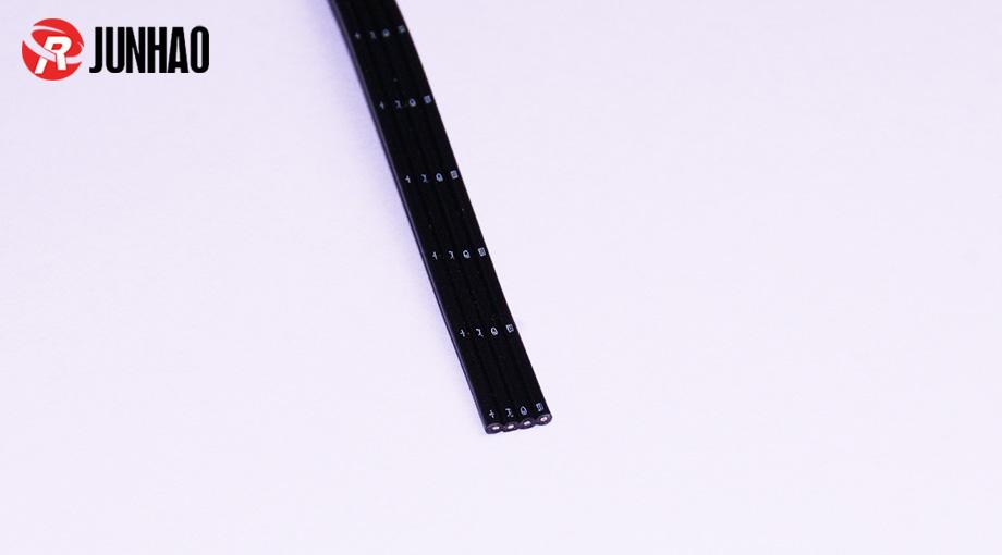黑色4并硅胶线产品图