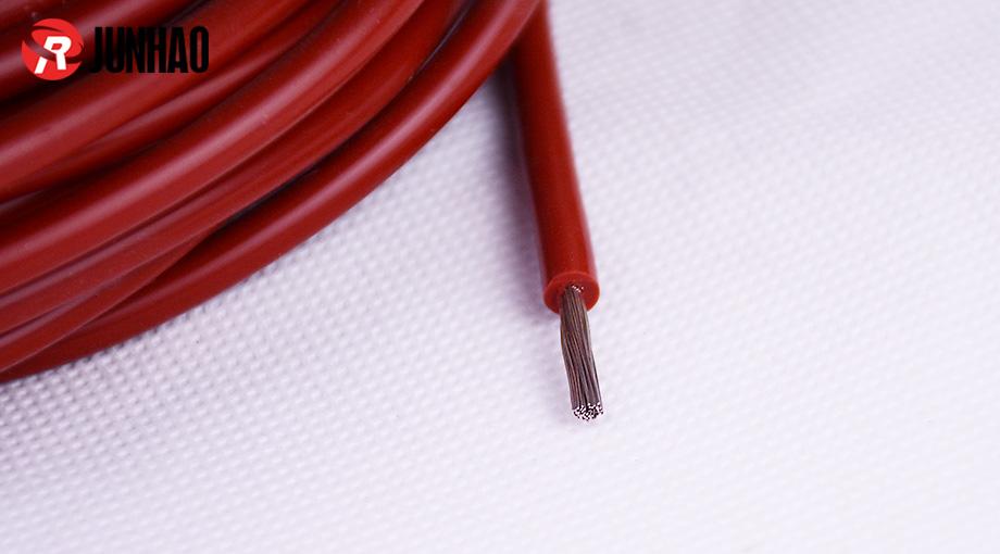 耐高温单芯高压硅胶线产品图