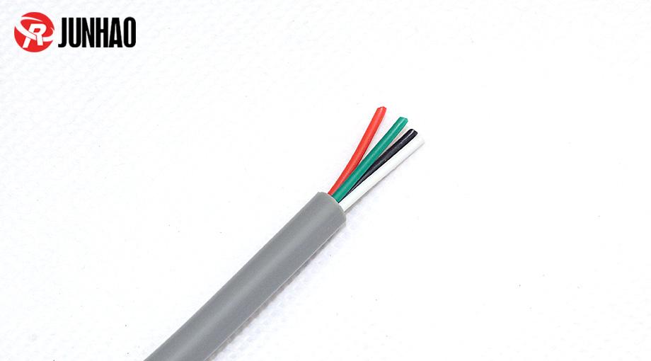 0.3平方4芯特软硅胶电缆线产品图