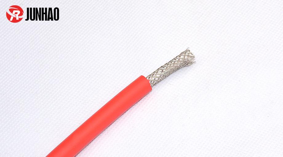 单芯硅胶屏蔽线产品图