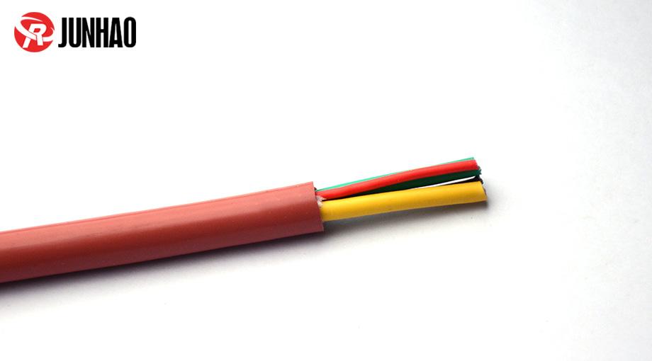 阻燃硅胶电缆线产品图