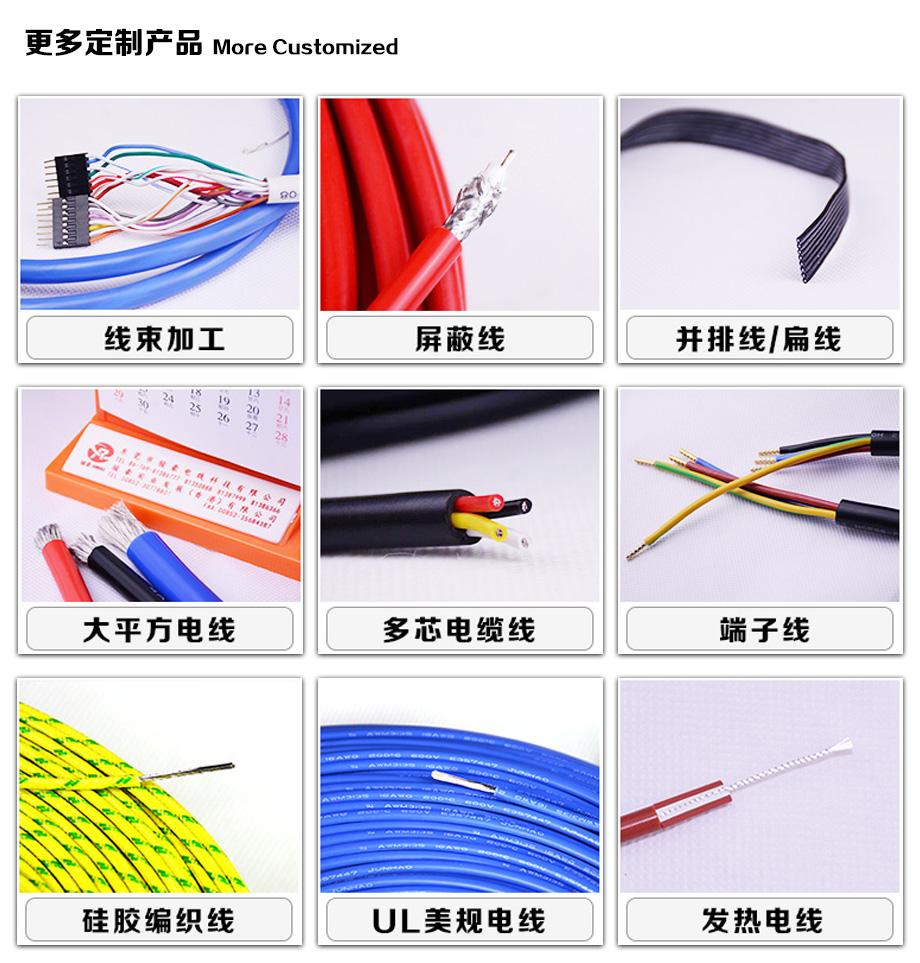 更多电线电缆产品定制